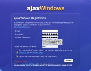 ajaxwindowsサインアップ