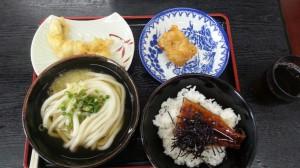 ウナギセット+天ぷら